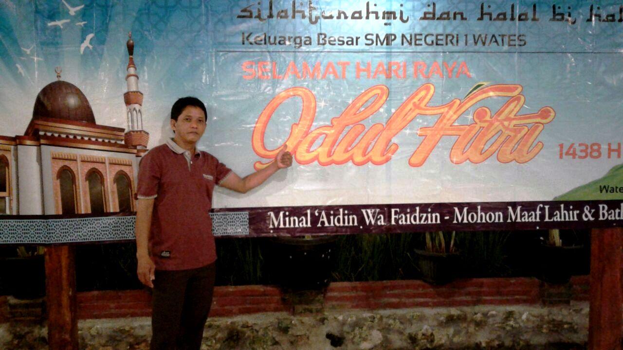 Silahturahmi dan Halal Bi Halal Keluarga Besar SMP Negeri 1 Wates