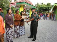 Hari Jadi Kabupaten Kulon Progo & Penyerahan Piala Kodam, Dandim 0731 KP Menjadi Pembina Upacara