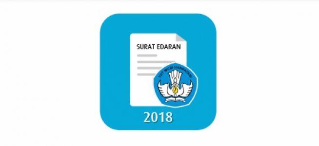 Surat Edaran Mendikbud No 8 Tahun 2018 Tentang Penerimaan Peserta Didik Korban Bencana Alam