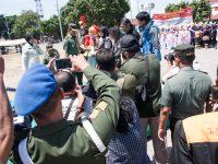 Kegiatan Komsos Kreatif, Marching Band SMP N 1 Wates Juara 1 tingkat Korem